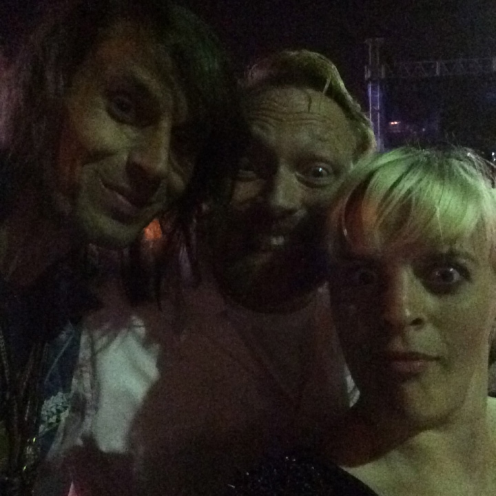 Jesse Camp, Kevin Allison and me