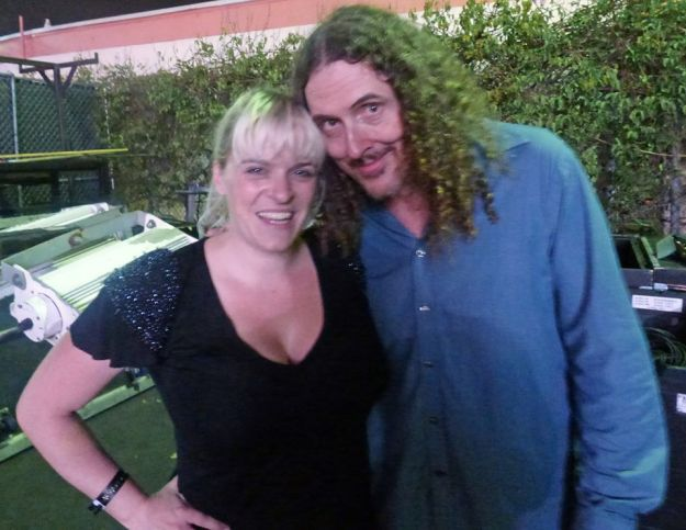I take a picture with Weird Al Yankovic after the show